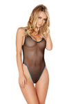 J-Valentine Black Trim Tank Bodysuit - Rave Bodysuits & One Pieces, J Valentine - YourLamode