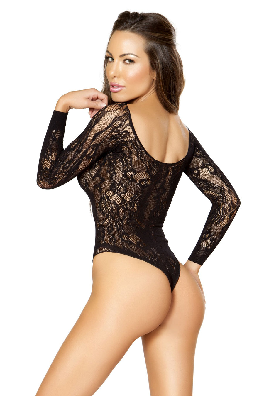 Long-Sleeved Bodysuit - Intimates, Roma - YourLamode