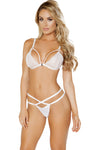Eyelash Lace Bra Set - Intimates, Roma - YourLamode