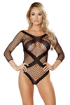 Crisscross Crotchless Teddy Bodystocking - Intimates, Roma - YourLamode