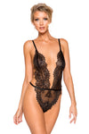 Simply Stunning Low Plunge & High Leg Eyelash Teddy - Intimates, Roma - YourLamode