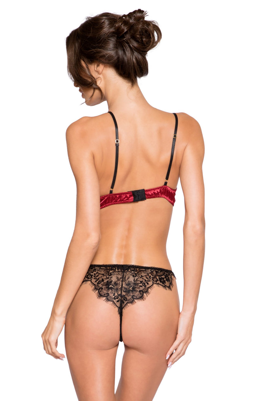 Lace & Satin Short Set - Intimates, Roma - YourLamode