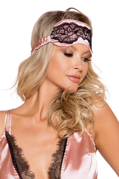Satin & Lace Sleep Eye Mask - Intimates, Roma - YourLamode
