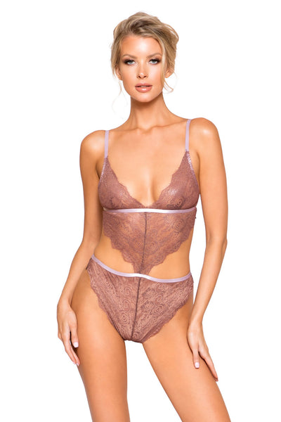 Lace Cutout Teddy - Intimates, Roma - YourLamode