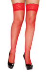 Red Fishnet Leg Warmer - Intimates, Roma - YourLamode