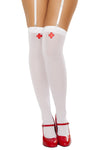 Nurse Stockings - Halloween Accessories, Roma - YourLamode