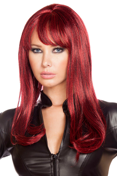 Burgundy Wig - Costume Add-on, Roma - YourLamode