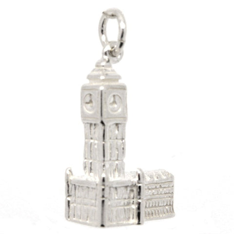 Silver Big Ben and Houses of Parliament Charm