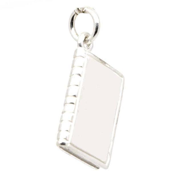 Silver Book Charm - Perfectcharm - 1