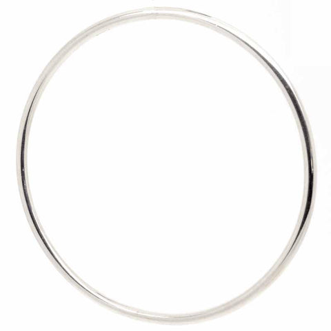 Silver Bangle for Charms