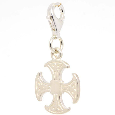 Canterbury Cross Charm