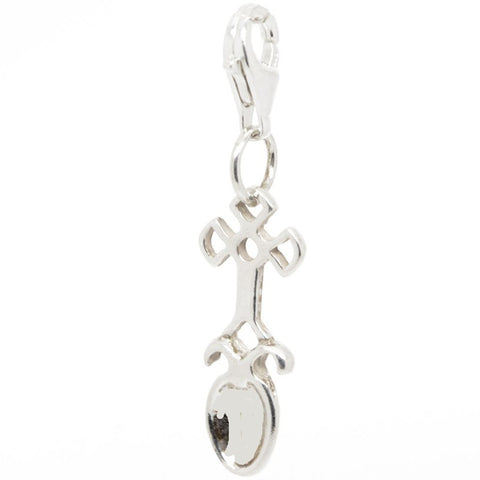 Celtic Love Spoon Faith Charm