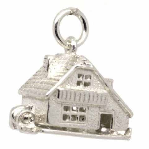 Silver Chalet Cottage Charm