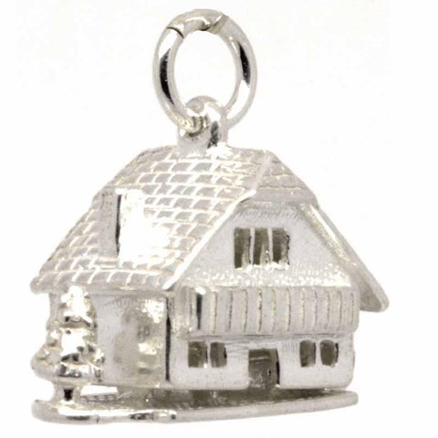 Silver Chalet Cottage Charm with Tree