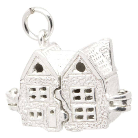 Silver Doll's House Charm