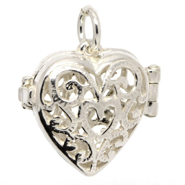 Filigree Heart Charm - Perfectcharm - 1
