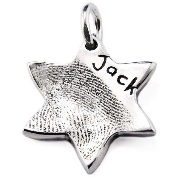 Fingerprint Star Charm - Perfectcharm - 1