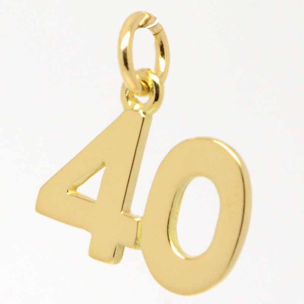 Gold Forty Charm 40 - Perfectcharm - 1