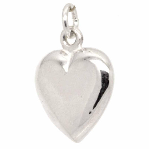 Gold Large Heart Charm