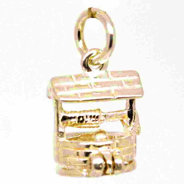 Gold Small Wishing Well Charm - Perfectcharm - 1