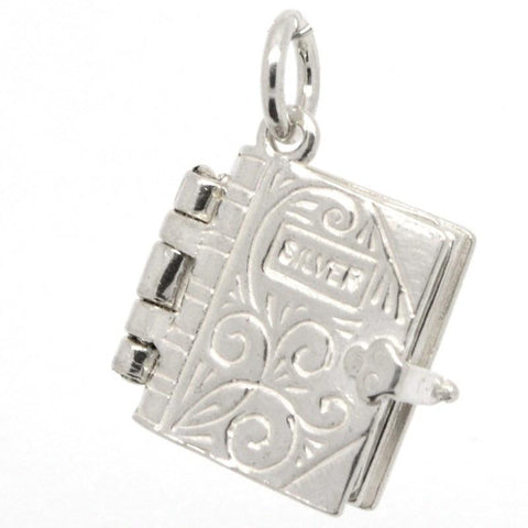 Holy Book Bible Charm