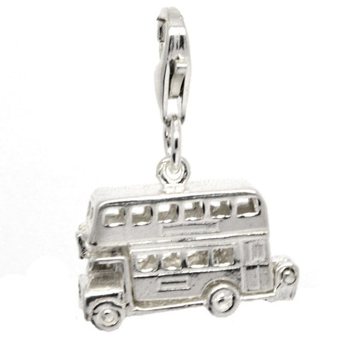Large London Bus Charm