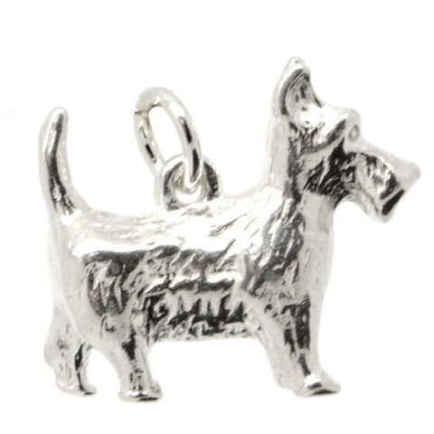 Large Scottie Dog Charm