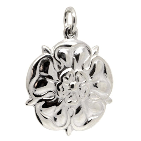 Large Tudor Rose Charm