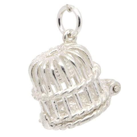 Silver Lobster Pot Charm