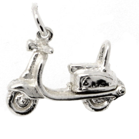Moped Scooter Charm