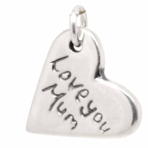 Silver Mother's Day Charm