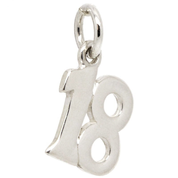 Number 18 Plain Charm - Perfectcharm - 1