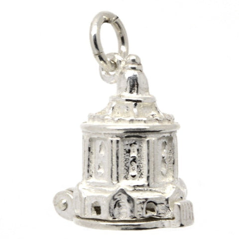 Silver Oxford Radcliffe Camera Charm