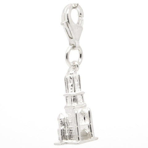 Silver Oxford Tom Tower Charm