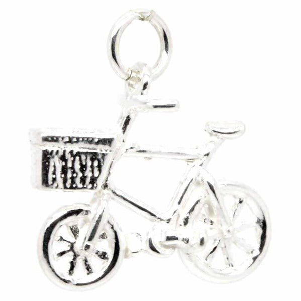 Charm - Silver Bicycle Charm