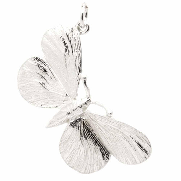 Charm - Silver Butterfly Pendant Charm