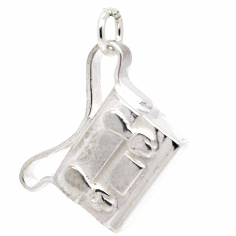 Silver Satchel or school bag Charm