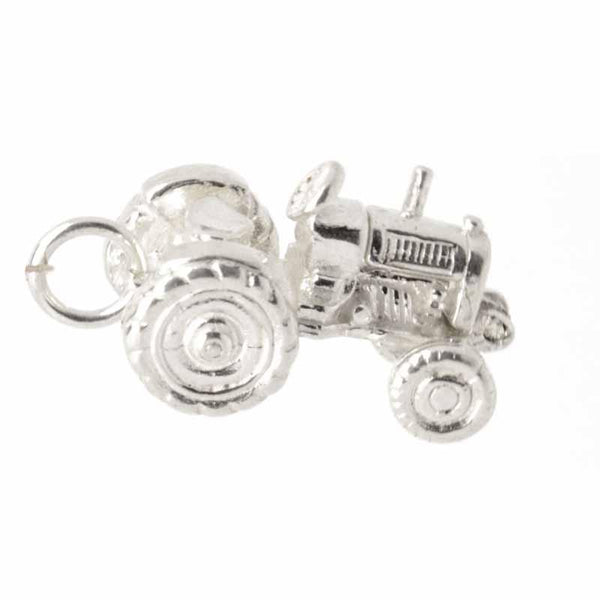 Charm - Silver Tractor Charm