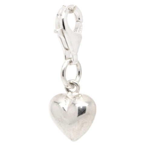 Silver Small Heart Charm