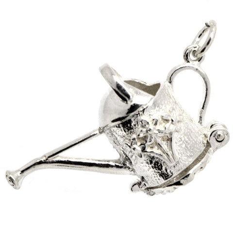 Silver Watering Can Charm