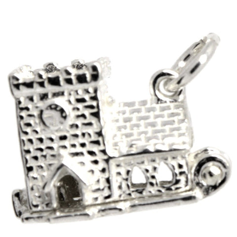 Silver Wedding Church Charm