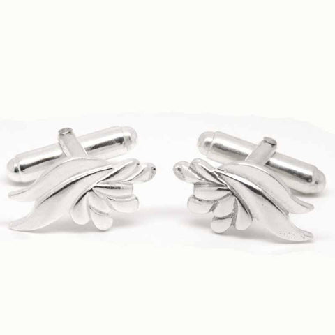 Silver Ladies Sheaf Cufflinks