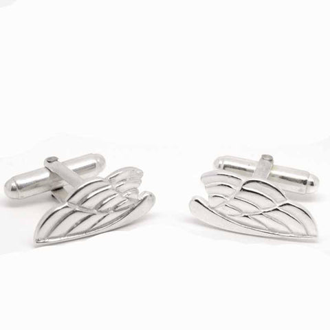 Silver Ladies Strong Wings Cufflinks