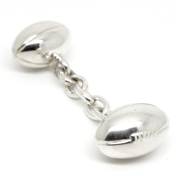 Rugby Ball Double Cufflinks - Perfectcharm