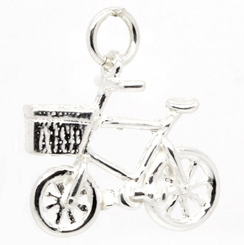 Gold Bicycle Charm