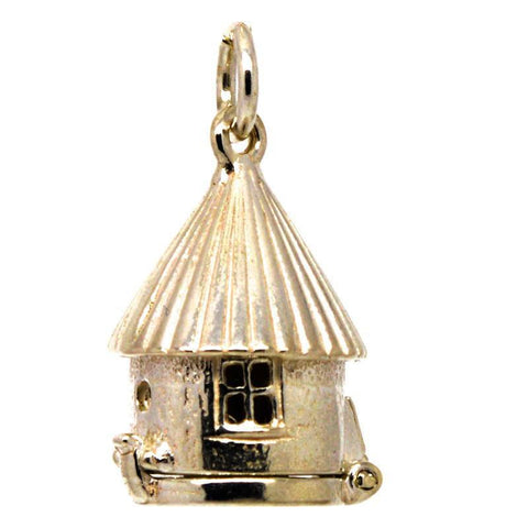 Gold Bird Box Charm
