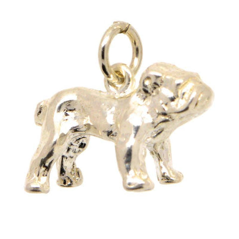 Gold Bulldog Charm
