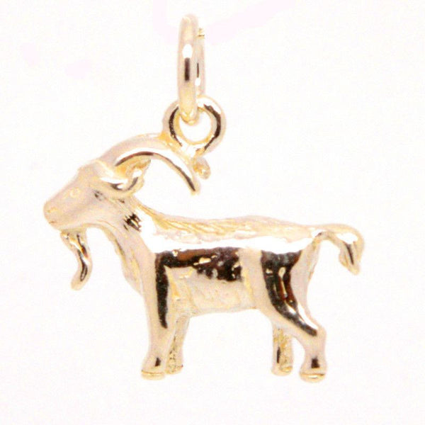 Gold Capricorn Charm - Perfectcharm - 2