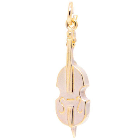 Gold Cello Charm
