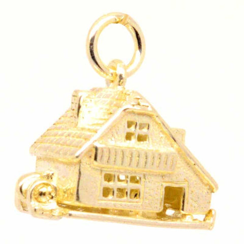 Gold Chalet Cottage Charm